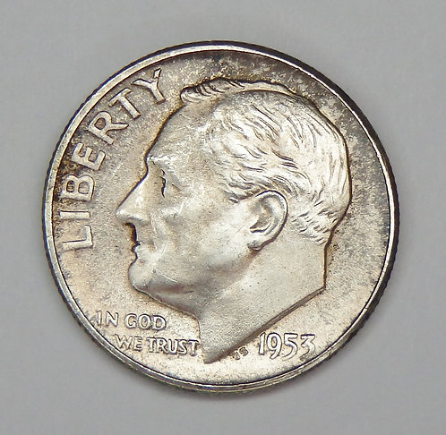 1953-S Roosevelt Dime