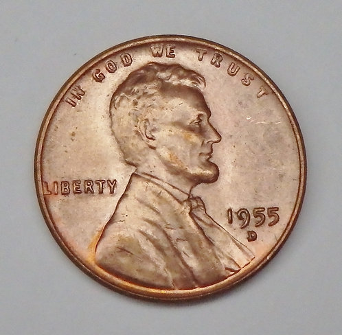 1955-D Wheat Cent