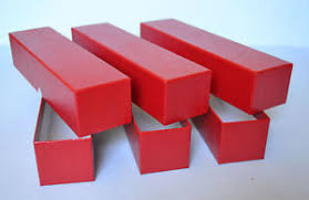 "Red 2""x2"" Coin Storage Box"