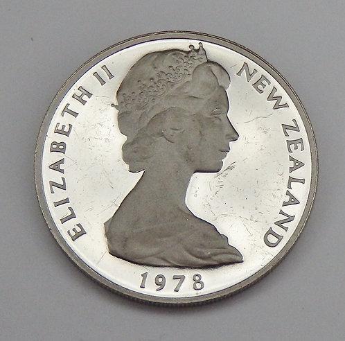 New Zealand - 20 Cents - 1978