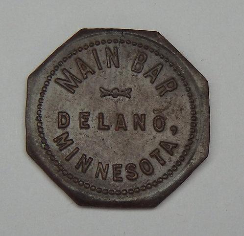 Minnesota, Delano - Main Bar Token