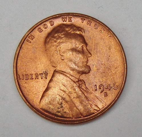 1946-S Lincoln Cent