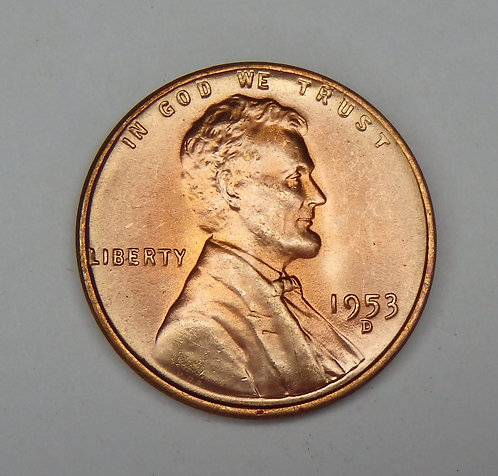 1953-D Lincoln Cent