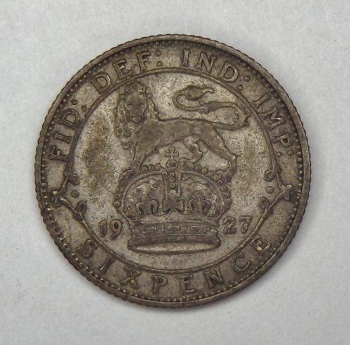 Great Britain - 6 Pence - 1927