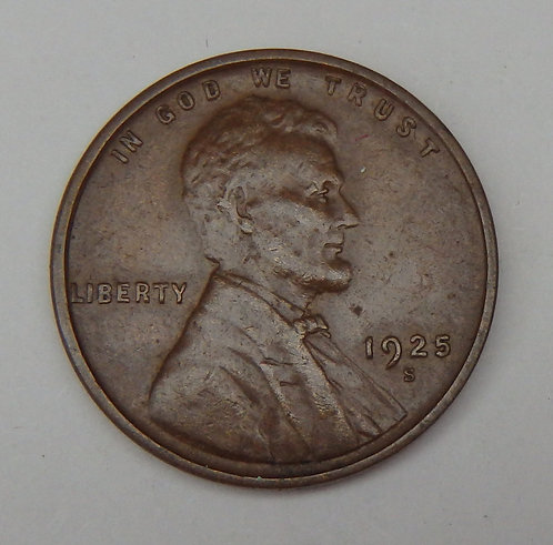 1925-S Lincoln Cent