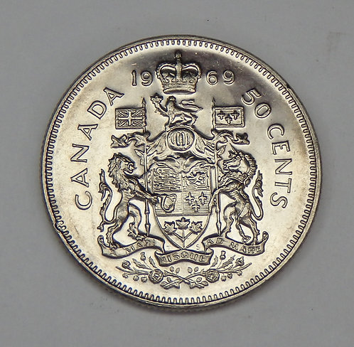 Canada - Half Dollar - 1969