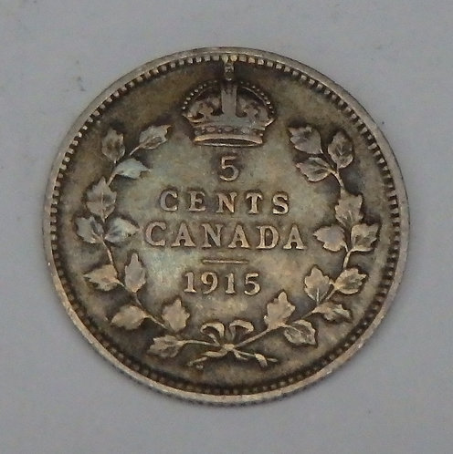 Canada - 5 Cents - 1915