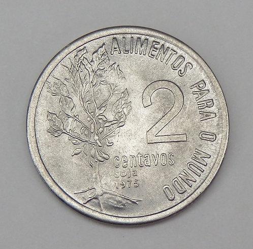 Brazil - 2 Centavos - 1975