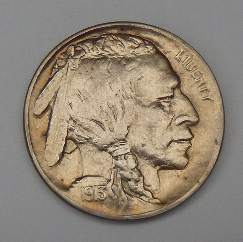 1913-D Buffalo Nickel