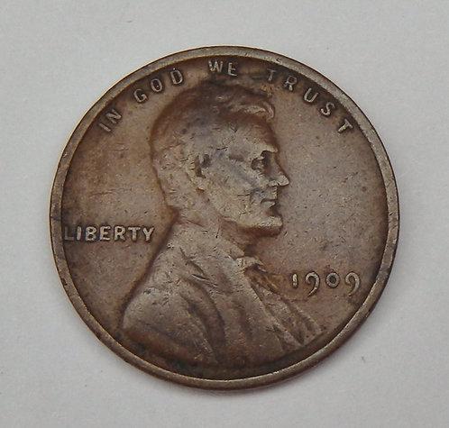 1909-VDB Lincoln Cent