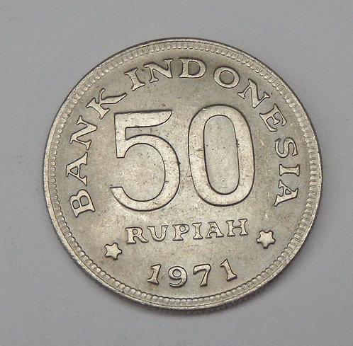 Indonesia - 50 Rupiah - 1971