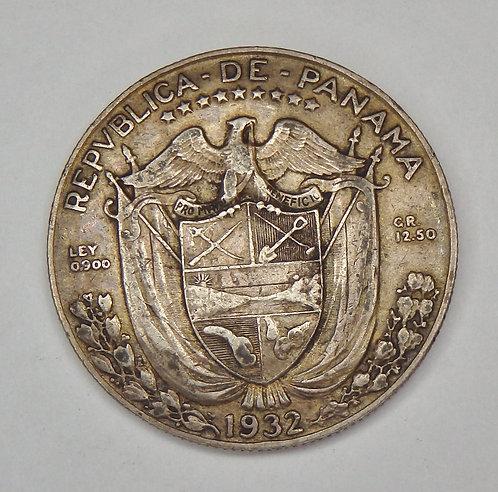 Panama - 1/2 Balboa - 1932