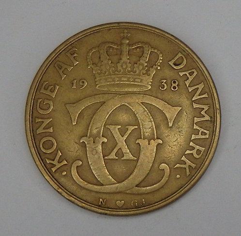Denmark - 2 Kroner - 1938