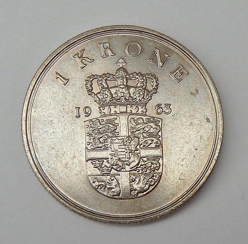 Denmark - Krone - 1963
