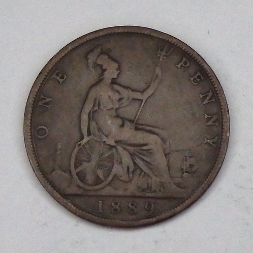 Great Britain - Penny - 1889