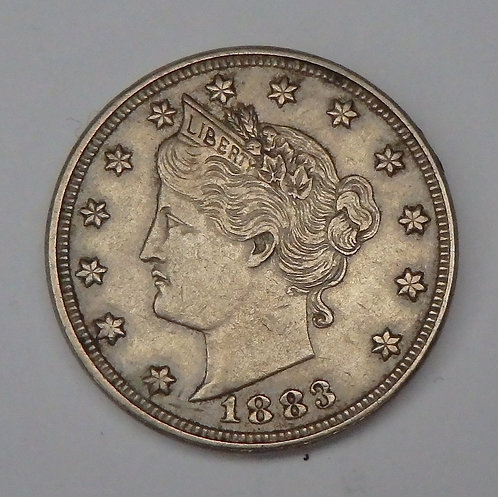 1883 No Cents V Nickel