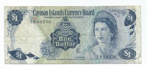 Cayman Islands - Dollar - 1971