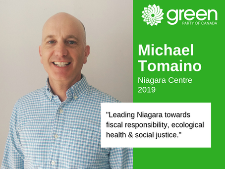 Candidate Announcement - Niagara Centre