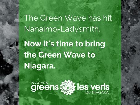 Bringing Niagara's Green Wave