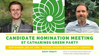 St Catharines Candidate Nomination Meeti