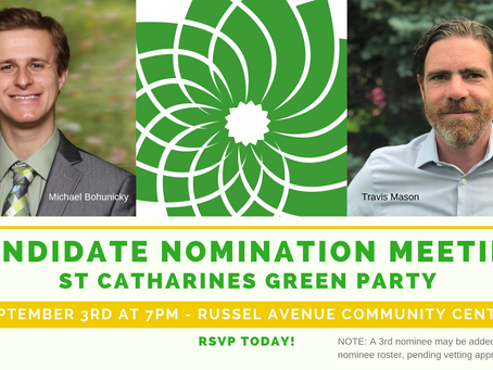 Meet the St Catharines Candidate Nominees: It's A Race!