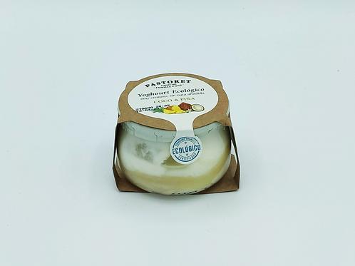 Iogurt pinya i coco ecològic Pastoret 135 g