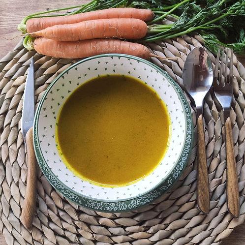 Crema de pastanaga i gingebre 300g