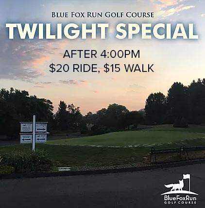 Twilight Golf Special at Blue Fox Run Golf Course