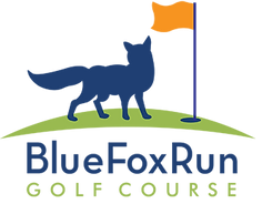Blue Fox Run Golf Course Logo