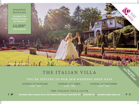Wedding Shows and Autumn Consultation Dates