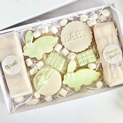 Baby Treat Box - Mint Green