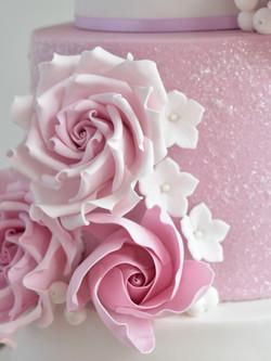 lilac mauve sugar roses