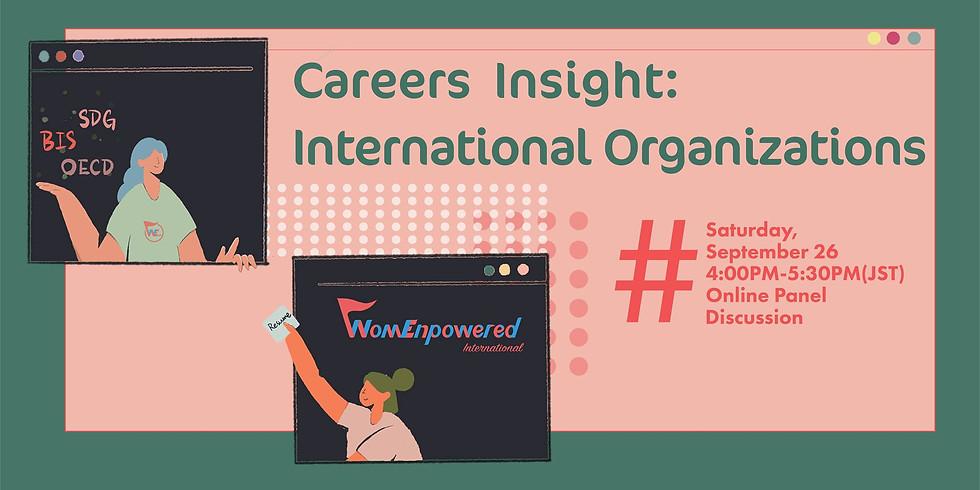 Career Insights: International Organizations
