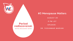 Event Report: Period rediscovered. #5 Menopause matters