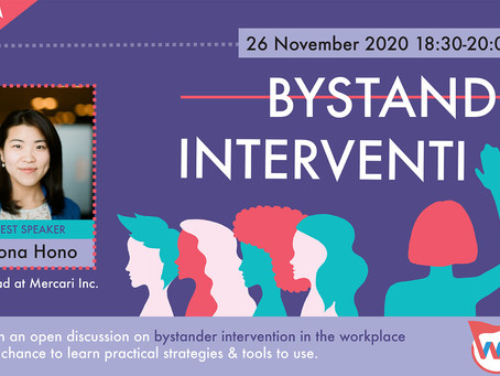 Event Report: Bystander Intervention in the Workplace