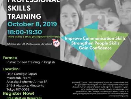 NEW Event: Dale Carnegie Professional Skills Training