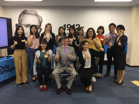 Event Report: Dale Carnegie Professional Skills Training for Students