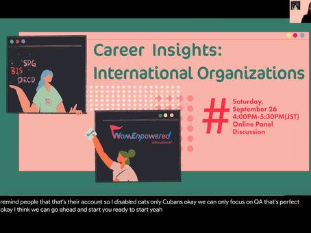 Event Report: Careers at International Organizations