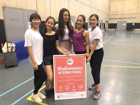 Event Report: Empower Women Through Fitness by Tomo Okabe