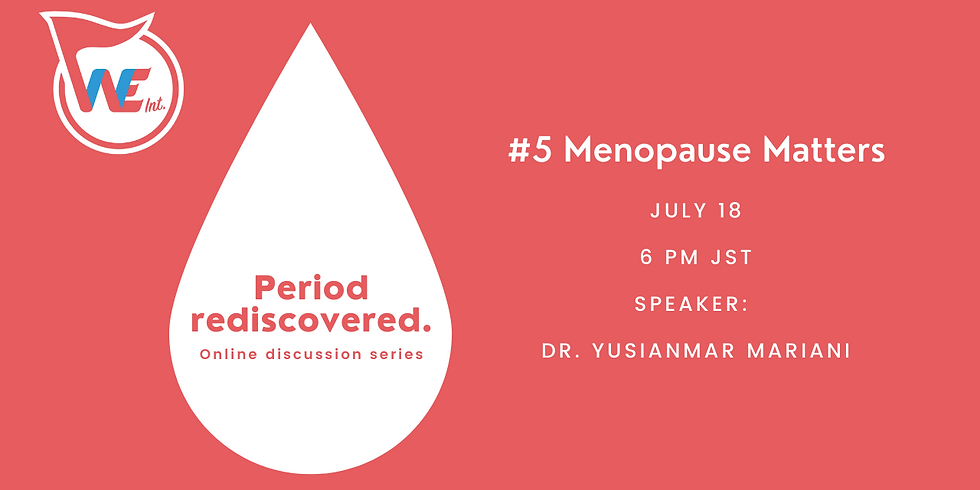Period rediscovered. #5 Menopause Matters
