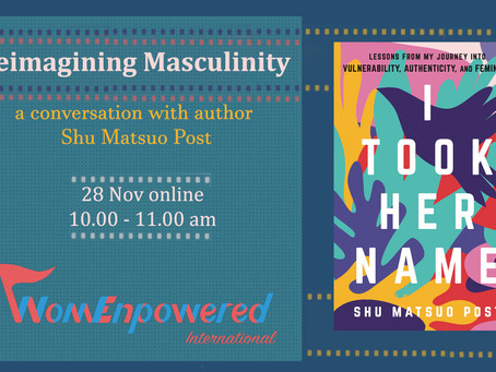 Event Report: Reimagining Masculinity - Conversation with Shu Matsuo Post