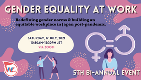 Biannual Event Report: GENDER EQUALITY AT WORK