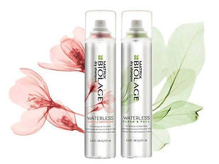 Biolage Waterless clean & Full dry shampoo. Adore Hair Salon