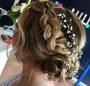 Up style braid