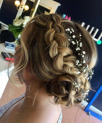 Braid event design hair