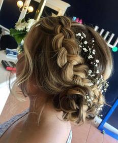 Braid event design hair