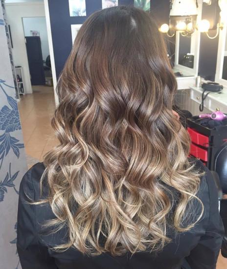 Soft bouncy hair