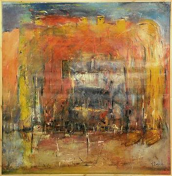 Oil on canvas, 200x204