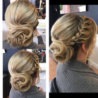 Elegant designed hair creations