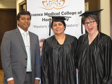 Post Graduate Diploma in Homeopathic Cardiology - Graduation Day - 2017